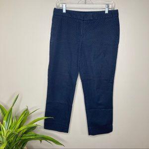 4/$25 Cynthia Rowley Cropped Polka Dot Pants
